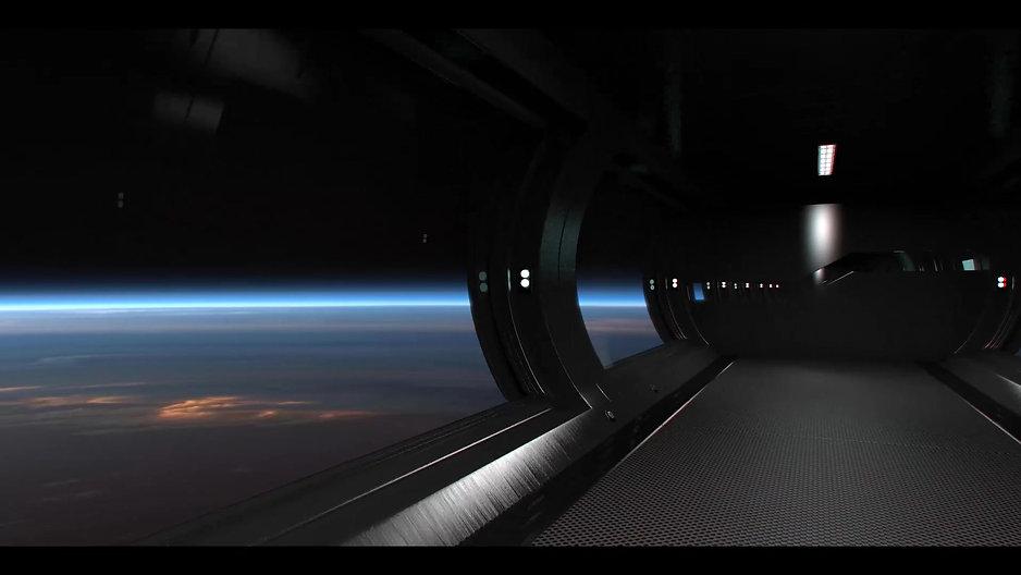 Earth: Blue Horizon Space Intro.