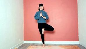 """Hatha Yoga Traditionnel - """"Je suis fort.e, ancré.e et stable"""""""