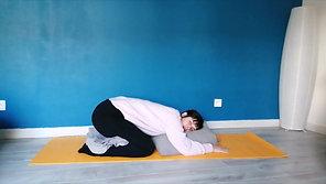 Yin Yoga - Détente pour le soir (séance contre un mur) - Semaine 1801