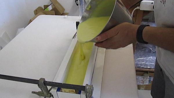 תהליך יצור סבון