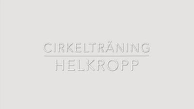 CIRKELTRÄNING -HELKROPP