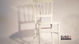 Wood napoleon chair