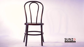 wood thonet chair