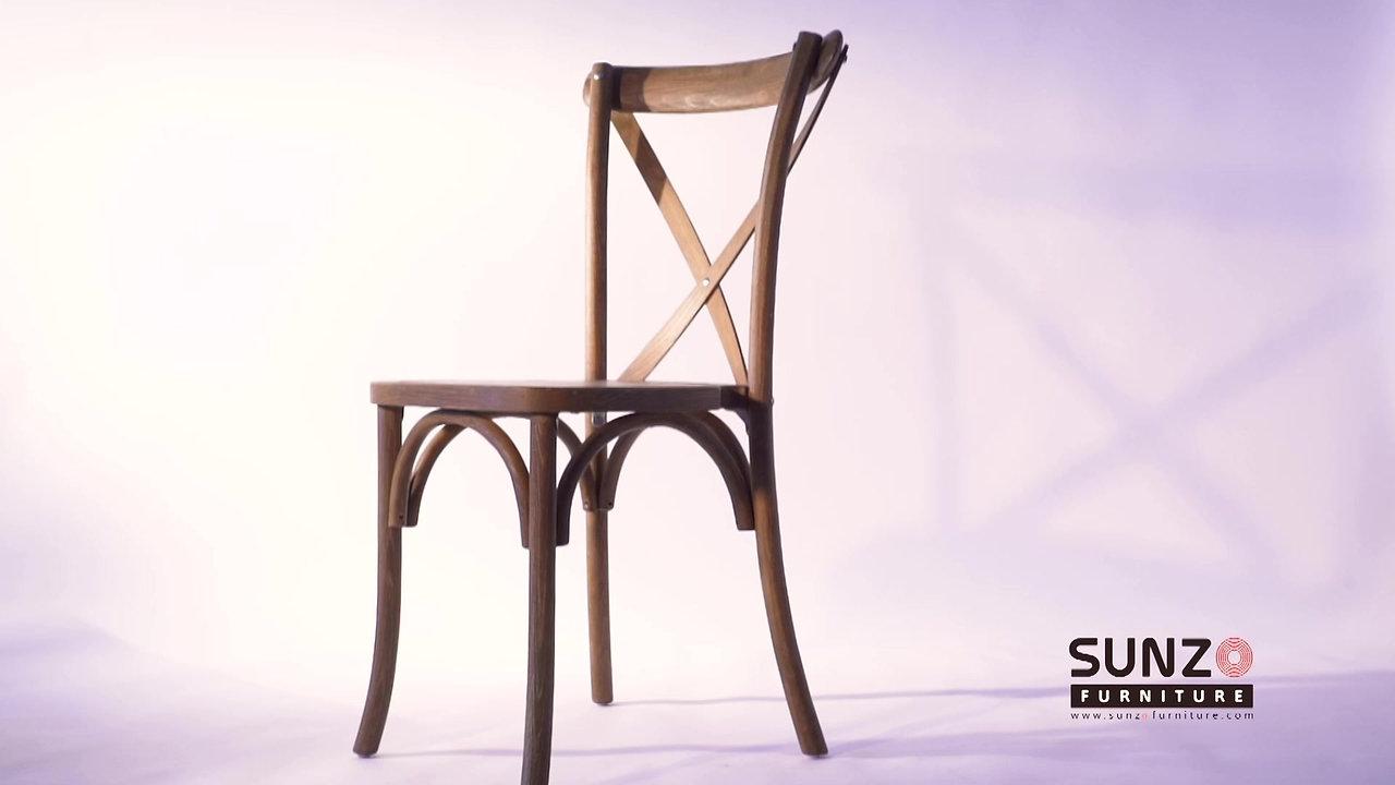 Cross back chair SZ-6101