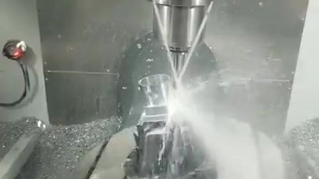 5 axis milling on our Haas UMC-1000