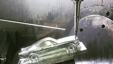 Mustang demo on Haas 5 axis