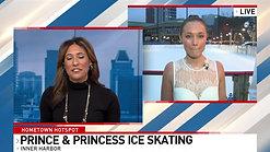 Fox45 Hometown Spotlight: EXPLORE B-MORE Prince and Princess Ice Skating