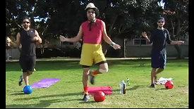 JORGE BRAVO'S Soccer Dance Workout.