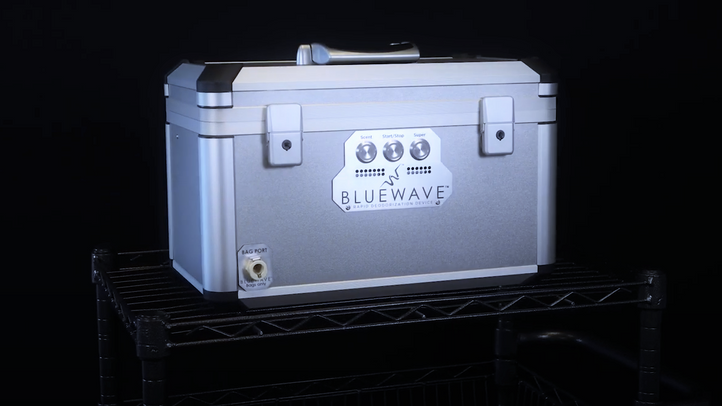 BLUEWAVE Rapid Deodorization Device for Orthotics & Prosthetics