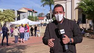 A testagem em massa em Araçoiaba da Serra ganhou destaque na mídia regional.