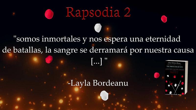 Presentación de las Rapsodias en Español