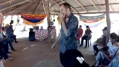 Instruyendo Etnoeducador@s en el manejo de Archivo Musical Wayuu