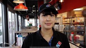 Dominos Pizza - Livraison sans contact