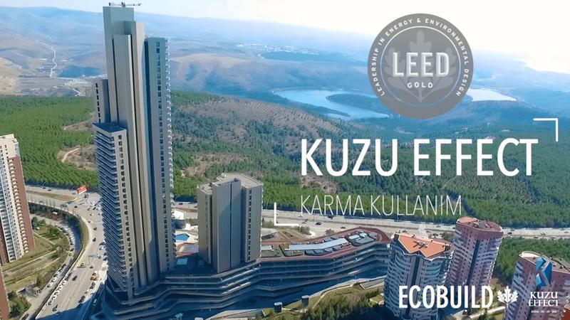 ECOBUILD Danışmanlığı ile LEED Gold Sertifikası Alan Kuzu Effect Karma Kullanım Projesi