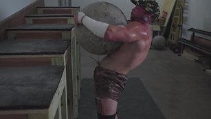 Derek Sander's Strong Man Workout