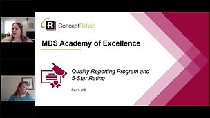 Quality Reporting Program & 5-Star Rating