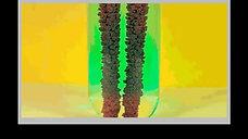 Dəmir + mis sulfat