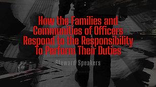 Steward Speakers IMPD and Community Promo