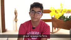 """Nosso aluno Felipe Gastal comparando """"O Senhor dos Anéis"""" com """"Harry Potter """""""