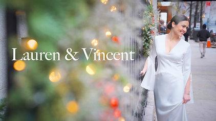 Lauren and Vincent