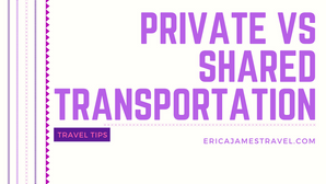Private vs Shared Transportation