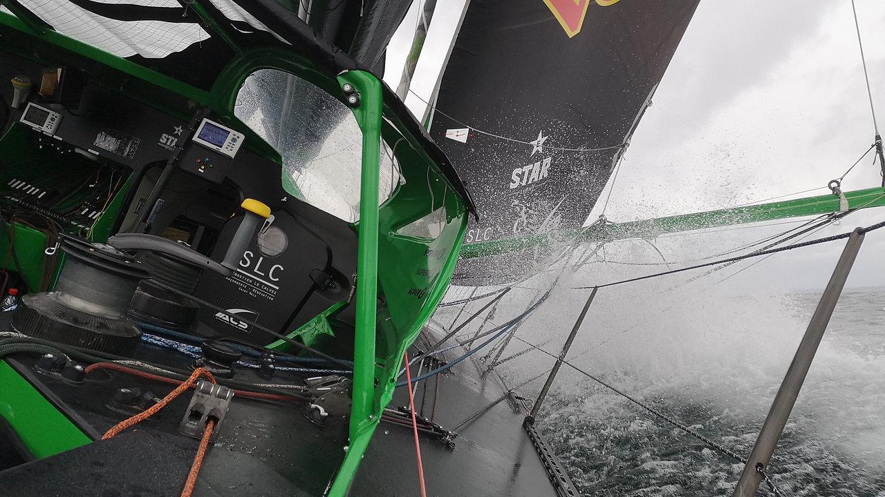 Suivez Maxime SOREL à bord de V and B - Sailing Together