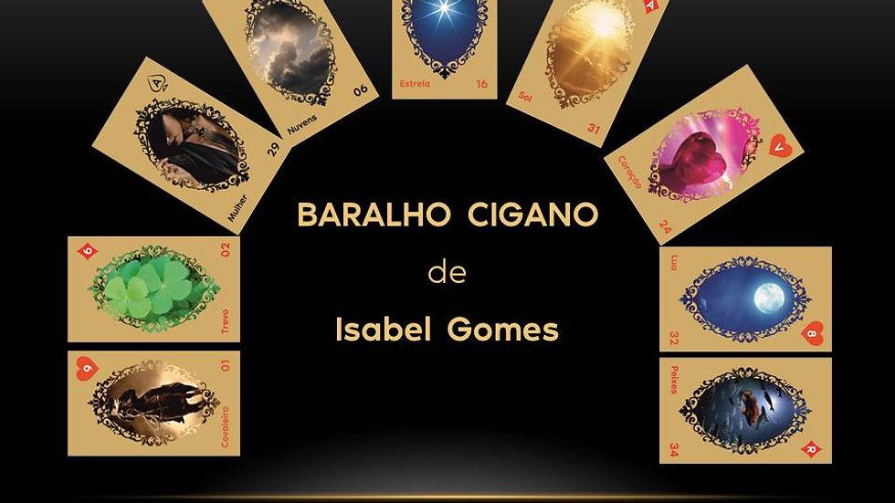 BARALHO CIGANO de ISABEL GOMES