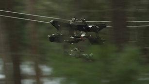 重型纜繩攝影系統-森林作業-應用案例參考