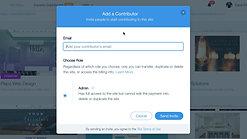 Adding a Contributor