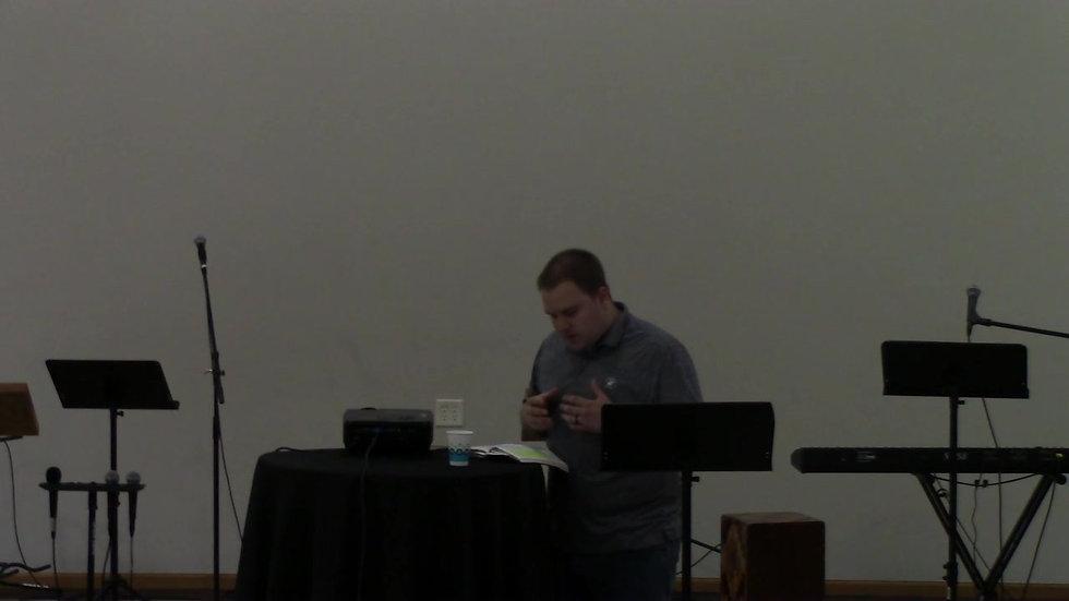 Solo Sermon- 5-31-2020- Graduation Sunday- Brennan Nassiff
