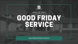 Good Friday Service 2020