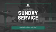 Sunday Service 06-14-20