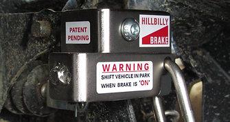 How to Lock the Talon Hillbilly Brake