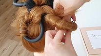 flower curl tutorial
