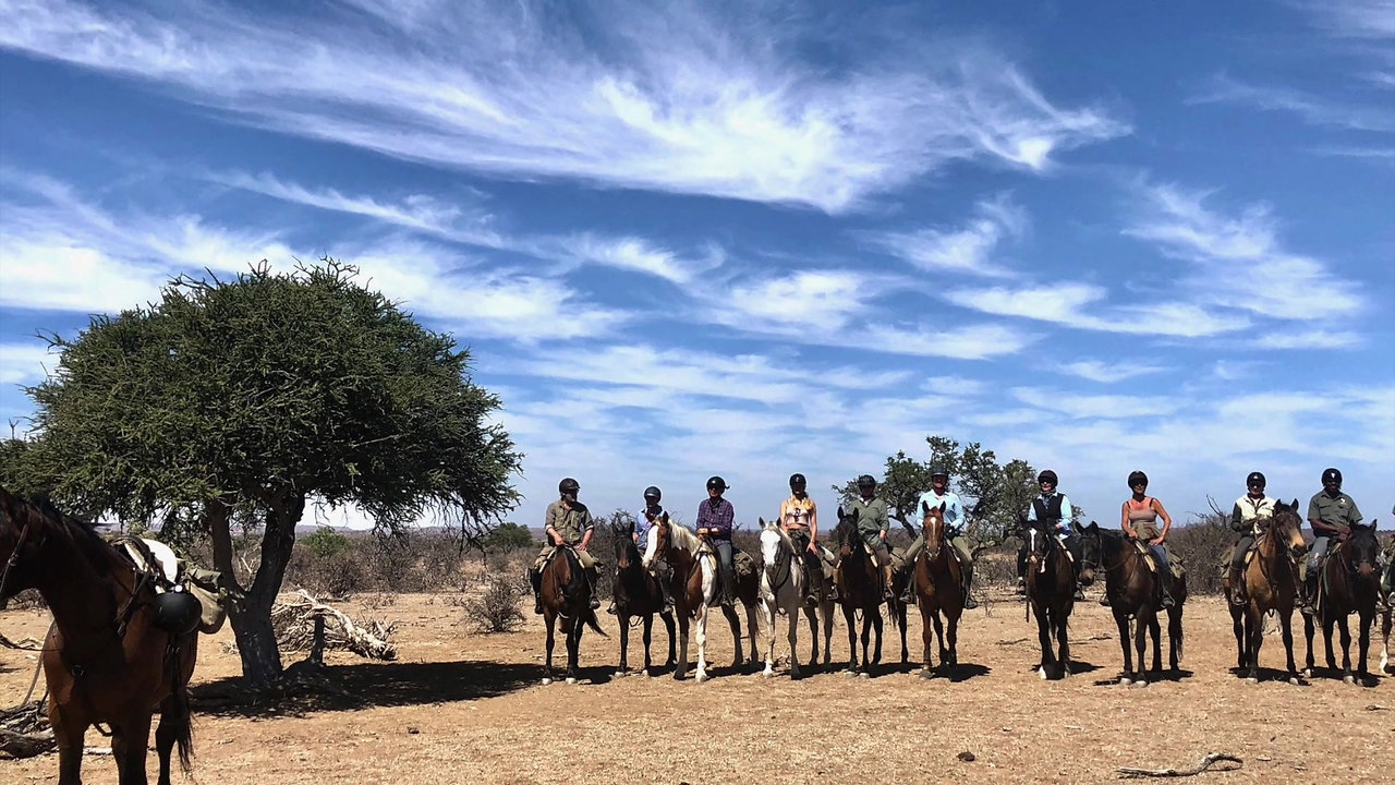 Botswana Horse Riding Safari