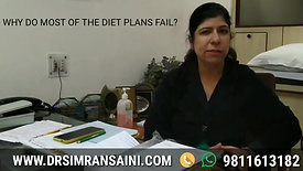 Why do most of the Diet Plans Fail?