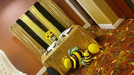 Sweet as can bee/ Sunflower themed baby shower