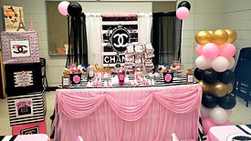 Chanel baby shower