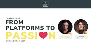 #TheNTWKTalks   From Platforms to Passion By Adriana & Ron
