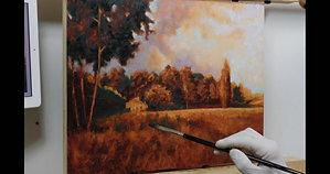 Chemin Des Flaux painting timelapse - HD 720p