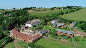 Farm drone tour