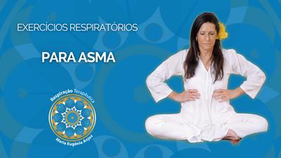 Exercícios respiratórios para Asma