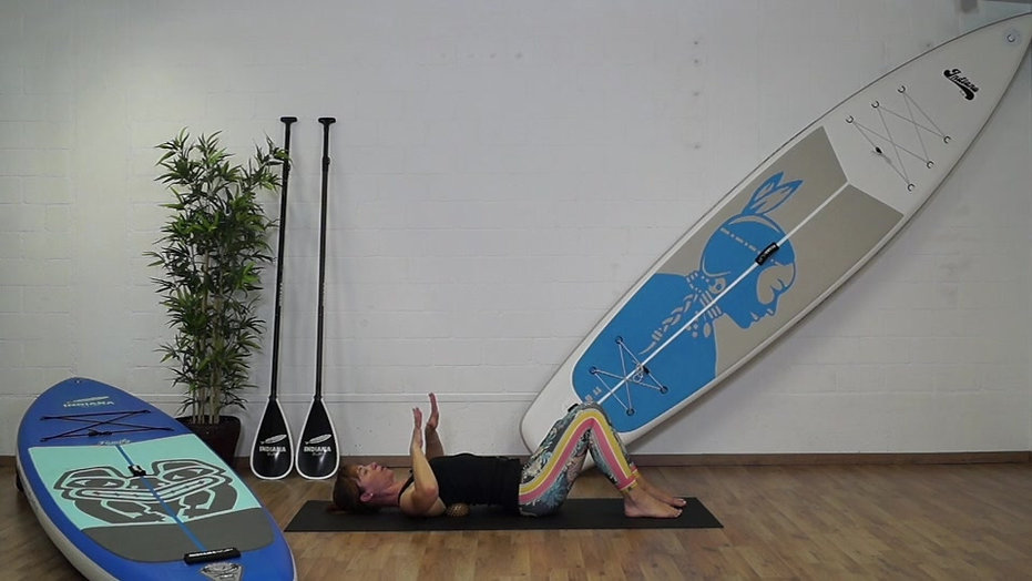 SUP Workout mit Slings Myofasziales Training - stand up paddling