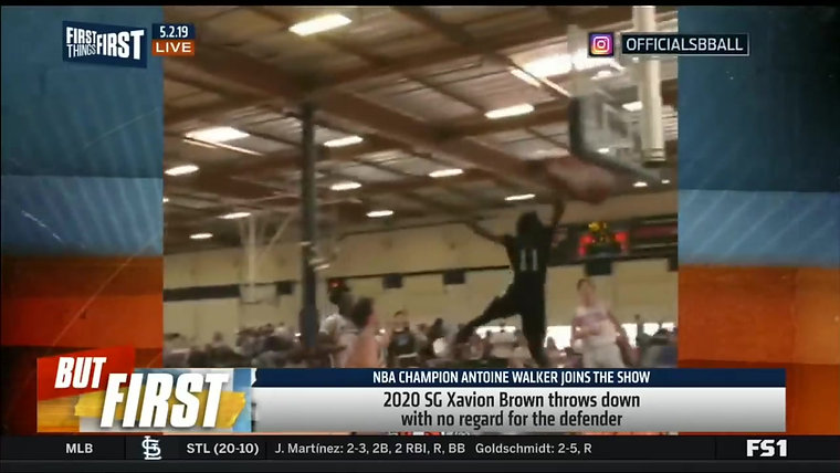Xavion Brown FS1 DUNK