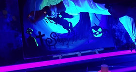 """SLEEPY HOLLOW"" Neon Painting Party"