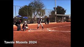 Tawnie Mozeris - Going Yard Inside Pitch