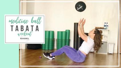 16 Min Tabatas with Medicine Ball