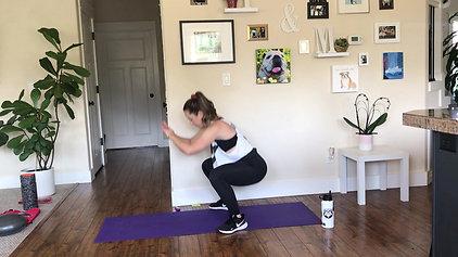 20 min Core + Booty Endurance Challenge