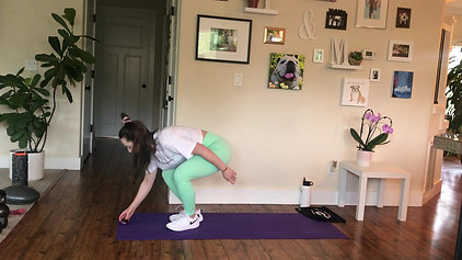 20 min Core + Booty HIIT