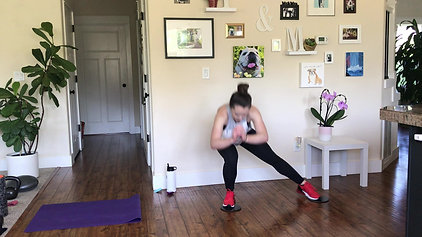 HIIT Pyramid Workout with Sliders